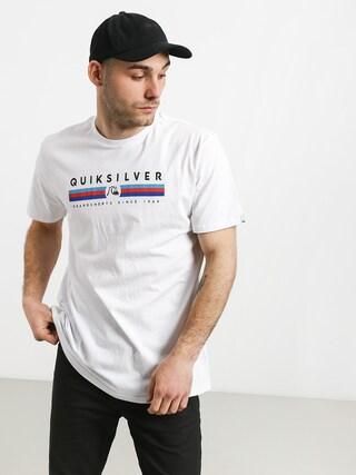 T-shirt Quiksilver Get Bizzy (white)
