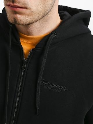 Bluza z kapturem Turbokolor Tiger Alert ZHD (black)
