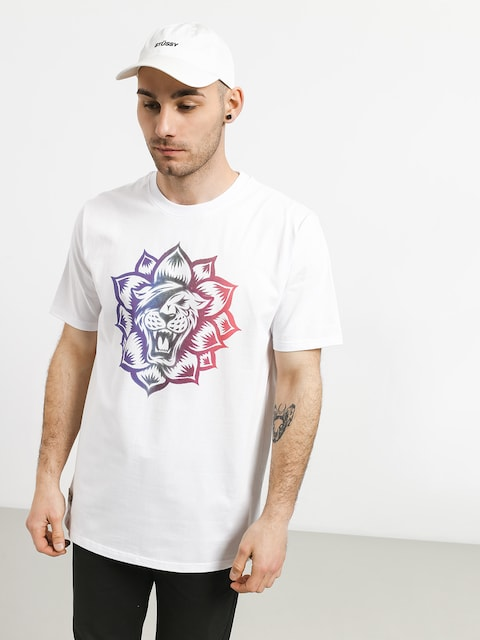 T-shirt Turbokolor Flower Power (white)