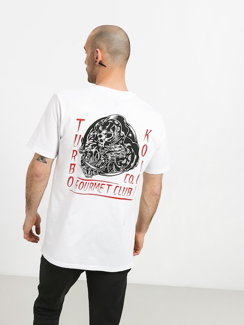 T-shirt Turbokolor Gourmet (white)