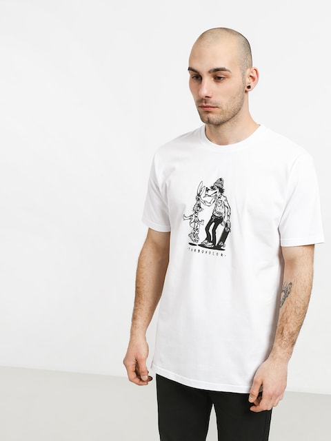 T-shirt Turbokolor No Love (white)
