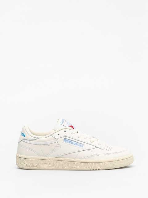 Buty Reebok Club C 85 Wmn (vintage chalk/paper wht/athletic blue/exc red)