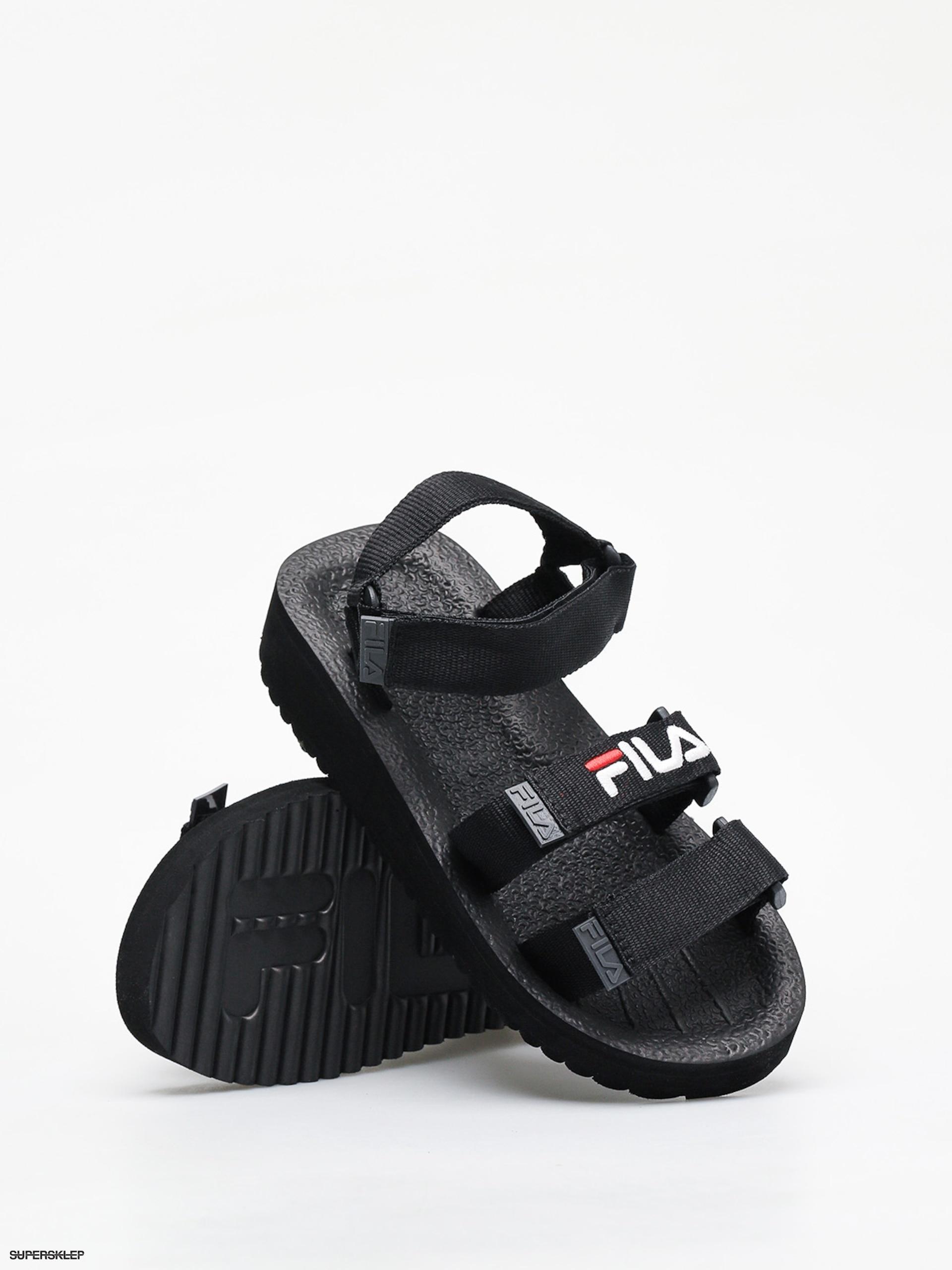 Sandały Fila Tomaia Sandal Wmn Wmn (black)