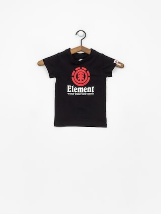 T-shirt Element Vertical Boy (flint black)
