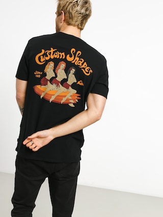 T-shirt Quiksilver Kustom Shapes (black)