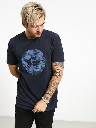 T-shirt Quiksilver Quik Circled (blue nights)