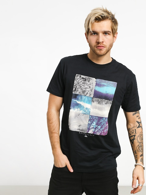T-shirt Quiksilver Photo Fun (black)