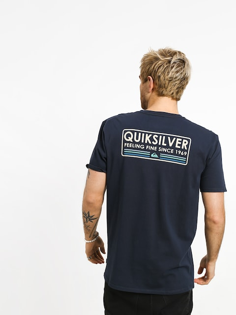 T-shirt Quiksilver Paddle Forward (blue nights)