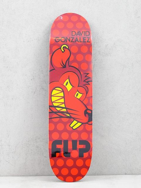 Deck Flip Gonzalez Popdots (red)