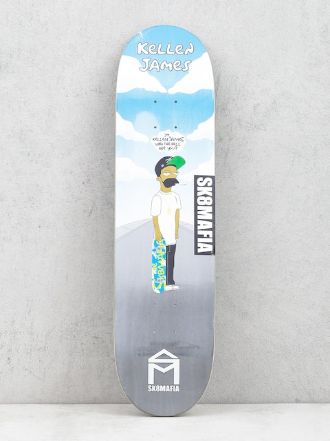 Deck Sk8Mafia Kellen James Pimpsuns (multi)