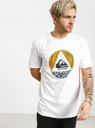 T-shirt Quiksilver Ca Plane Pour Moi (white)