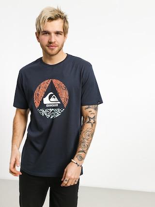 T-shirt Quiksilver Ca Plane Pour Moi (blue nights)