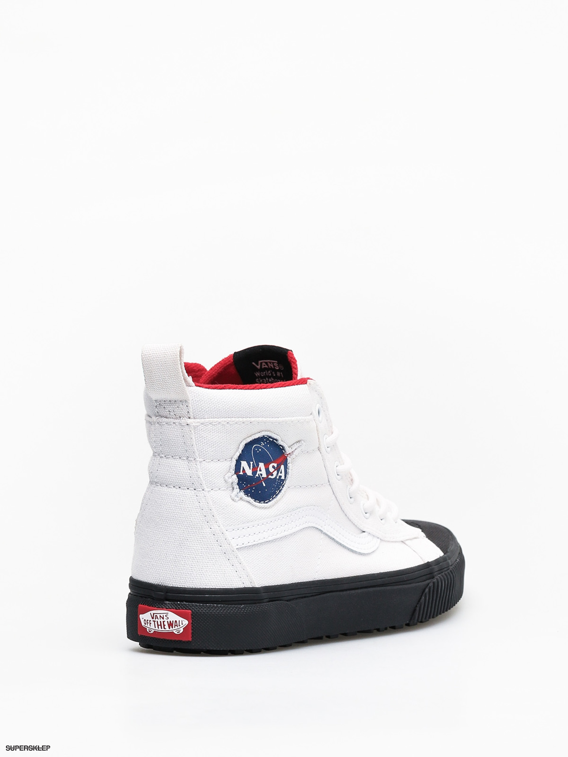 Buty Vans x NASA Sk8 Hi Mte Space Voyager (nasatrue whiteblack)
