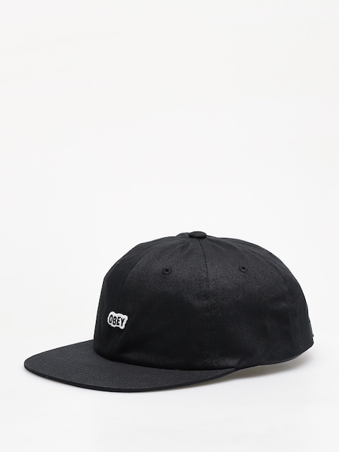 Czapka z daszkiem OBEY Sleeper 6 Panel Strapback ZD (black)
