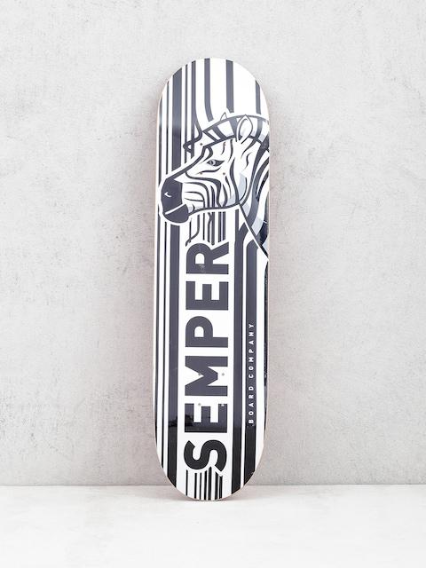 Deck Semper Skateboards Zebra