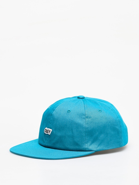 Czapka z daszkiem OBEY Sleeper 6 Panel Strapback ZD (pure teal)