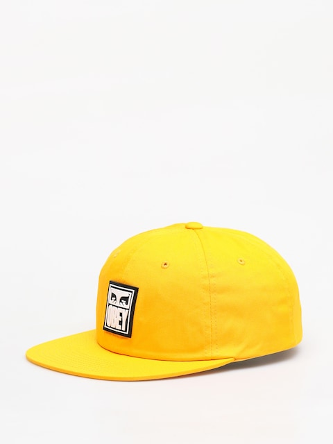 Czapka z daszkiem OBEY Vanish 6 Panel Snapback ZD (energy yellow)