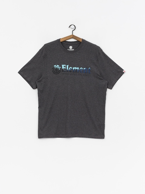 T-shirt Element Glimpse Horizontal (charcoal heathe)