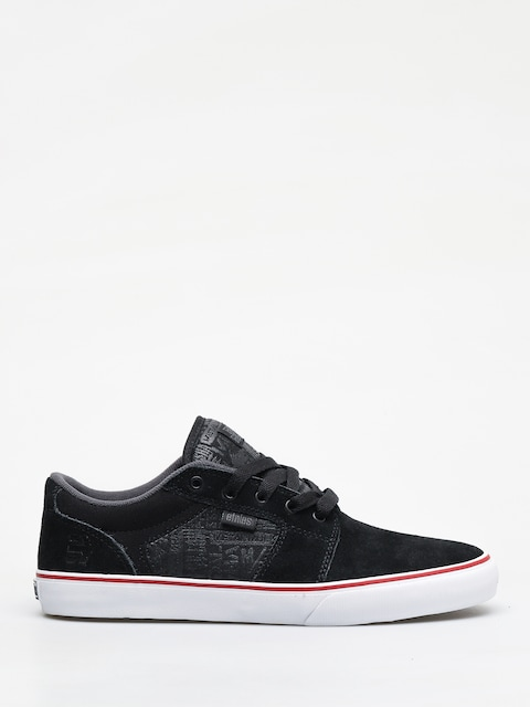 Buty Etnies Metal Mulisha Barge Ls (black/charcoal/red)