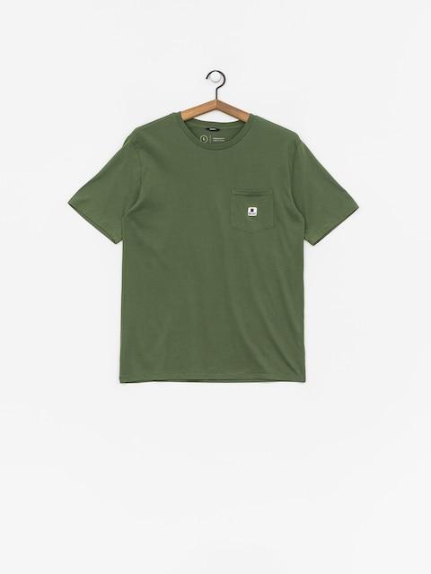 T-shirt Brixton Stowell Pkt (leaf)