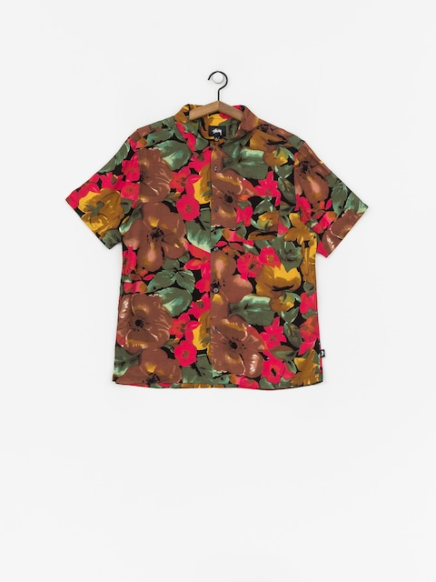 Koszula Stussy Watercolor Flower (black)