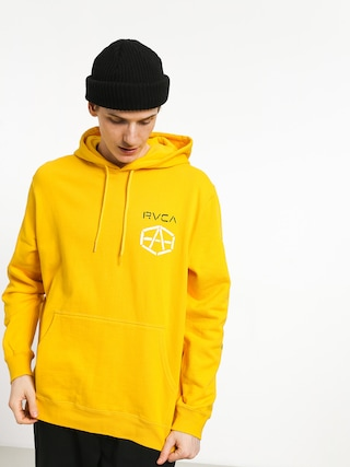 Bluza z kapturem RVCA Reynolds Stencile HD (lemon)