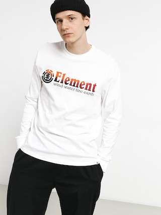 Longsleeve Element Glimpse Horizontal (optic white)