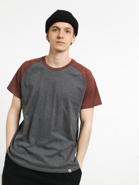 T-shirt Element Basic Raglan (oxblood heather)