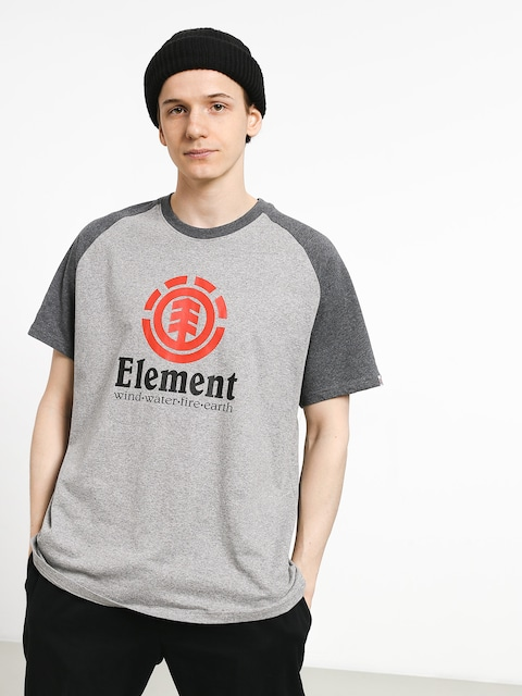 T-shirt Element Vertical Raglan (grey heather)