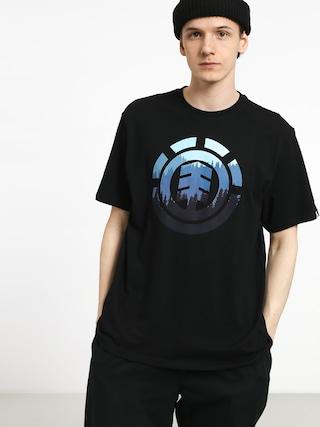 T-shirt Element Glimpse Icon (flint black)