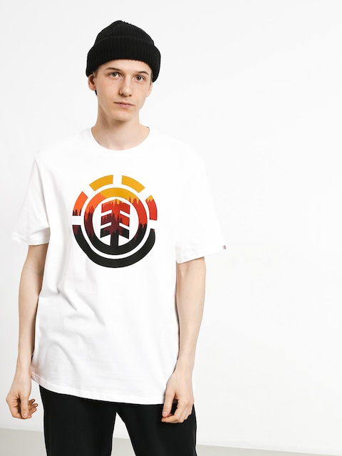 T-shirt Element Glimpse Icon (optic white)