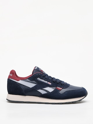 Buty Reebok Cl Leather Mu (navy/red/stucco/grey)