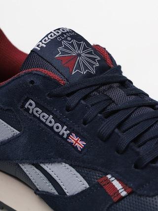 Buty Reebok Cl Leather Mu (navy/red/stucco/grey)
