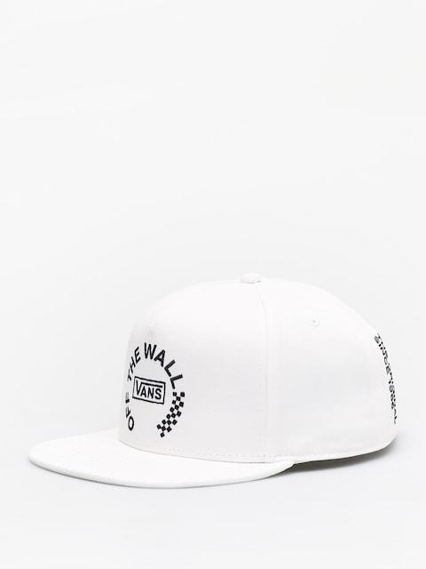 Czapka z daszkiem Vans Otw Distort Snapback ZD (white)