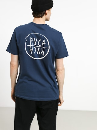 T-shirt RVCA Rvca Font (seattle blue)
