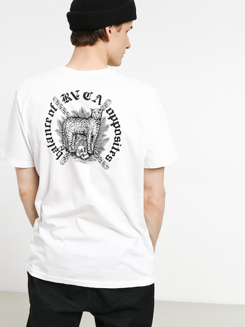 T-shirt RVCA Wildcat (white)