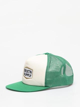 Czapka z daszkiem Brixton Fallon Mesh ZD (green/off white)