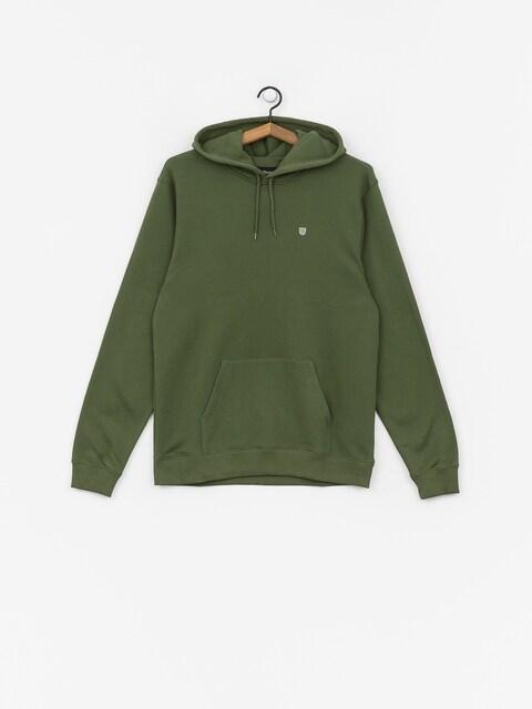 Bluza z kapturem Brixton B Shield Intl HD (leaf)