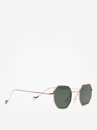 Okulary przeciwsu0142oneczne Jeepers Peepers JP18337 (gold)