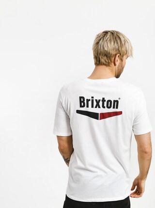 T-shirt Brixton Velocity Pkt (white)