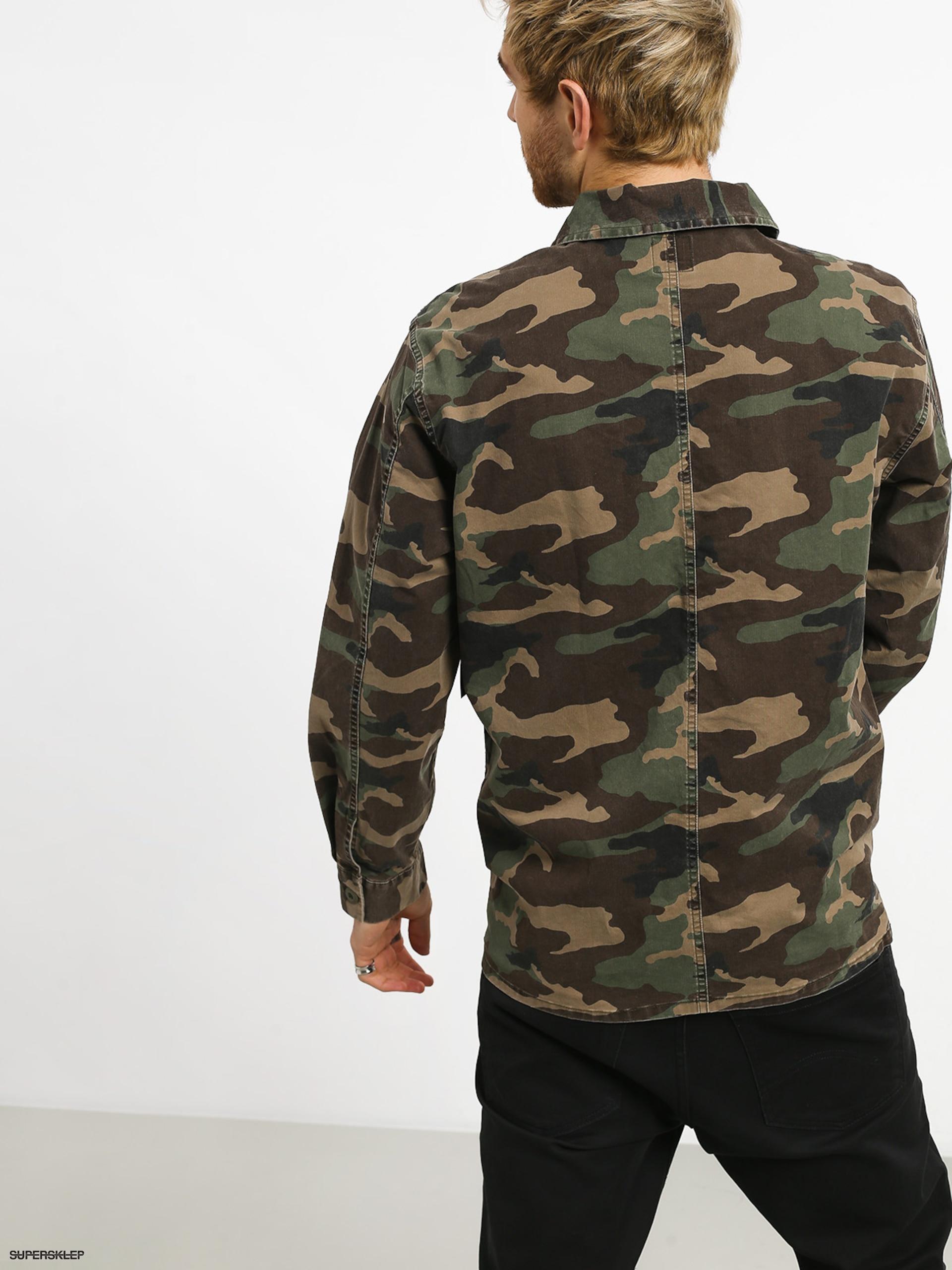 345a1d5252ef2 Kurtka RVCA Couleur Chore Coat (camo)