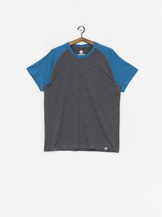T-shirt Element Basic Raglan (blue heather)