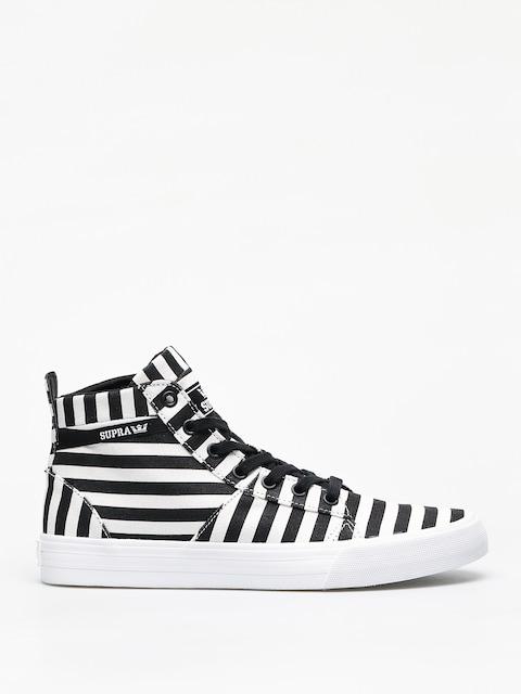Buty Supra Stacks Mid (black/white stripe)