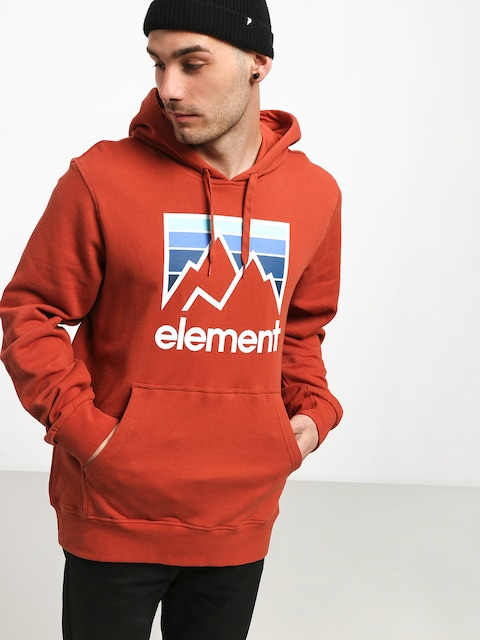 Bluza z kapturem Element Joint HD (etruscan red)
