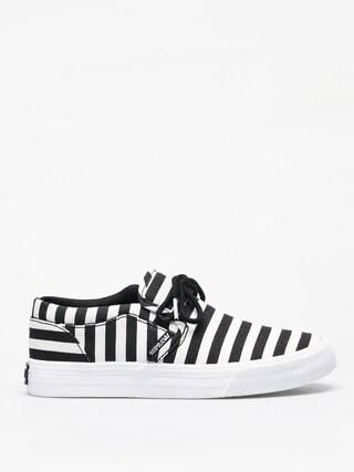 Buty Supra Cuba (black/white stripe)