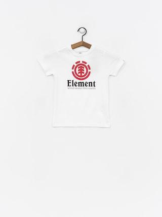 T-shirt Element Vertical Boy (optic white)