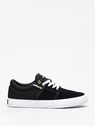 Buty Supra Stacks Vulc II (black/black white)