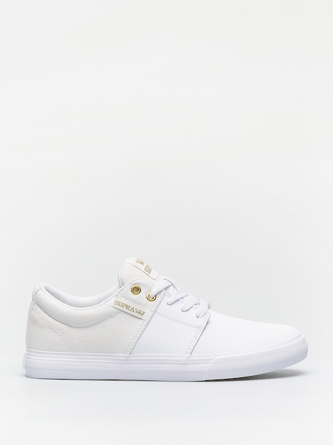 Buty Supra Stacks Vulc II (white/gold white)