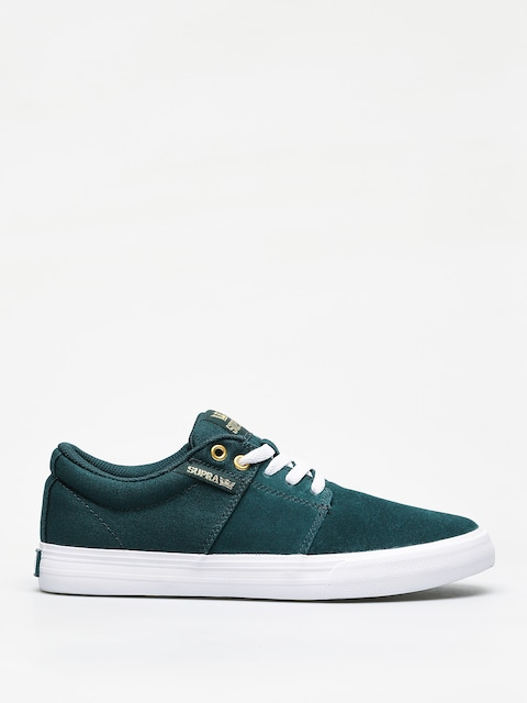 Buty Supra Stacks Vulc II (evergreen white)