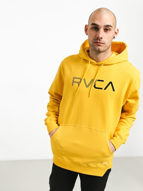 Bluza z kapturem RVCA Scratched Rvca HD (lemon)